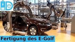 Gläserne Manufaktur Dresden Teil 1 - Die Fertigung des E-Golf von VW - März 2018