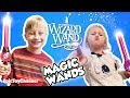 Zoey Disappeared Johnny with Magical Wand from of Dragons, Fairies and Wizards Playtime