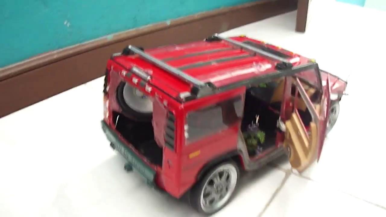 Hummer De Juguete Con Sonido Y Luces Mejorado Youtube