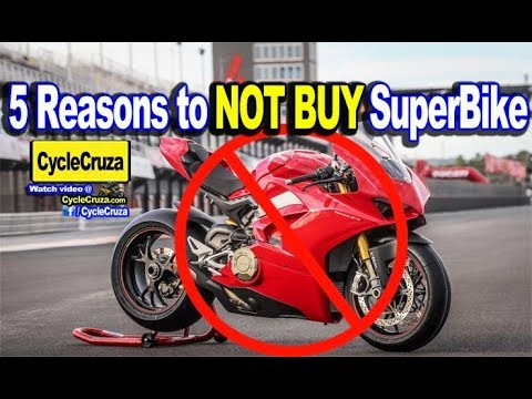 5 Reasons Why You SHOULDNT BUY A SUPERBIKE Motorcycle | MotoVlog