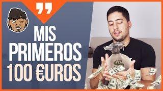 Cómo gané mis primeros 100 EUROS online