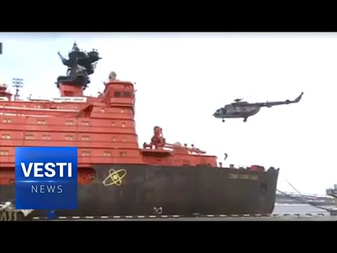 Arctic War! Russian National Guard Conducts Large-Scale Exercises, Storms Icebreaker in Frozen North