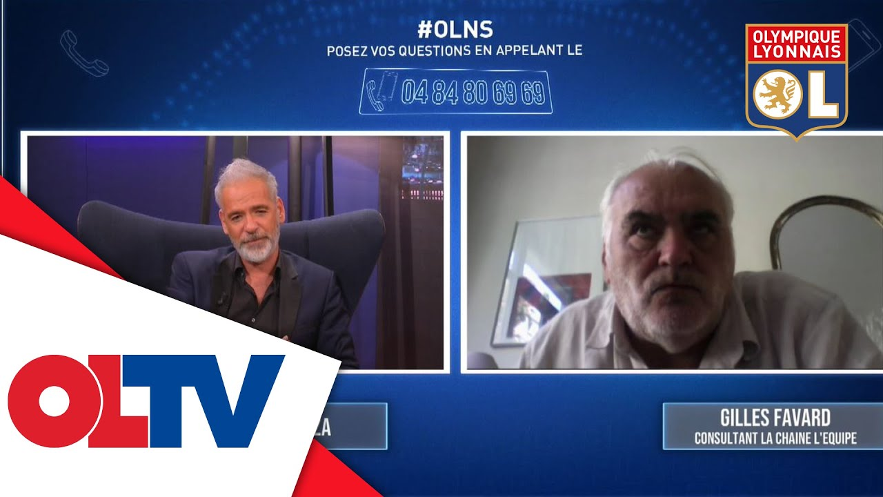 Extrait de Gilles Favard dans OLNS | Olympique Lyonnais