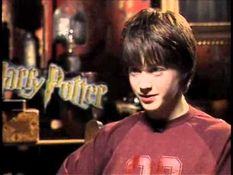 Daniel Radcliffe- Harry Potter and the Sorcerer's Stone Interview