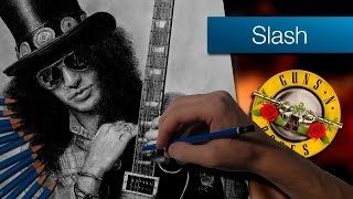 Slash | Dibujo a lápiz | Speed Drawing