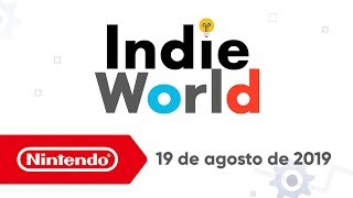 Indie World - 19-08-2019 (Nintendo Switch)
