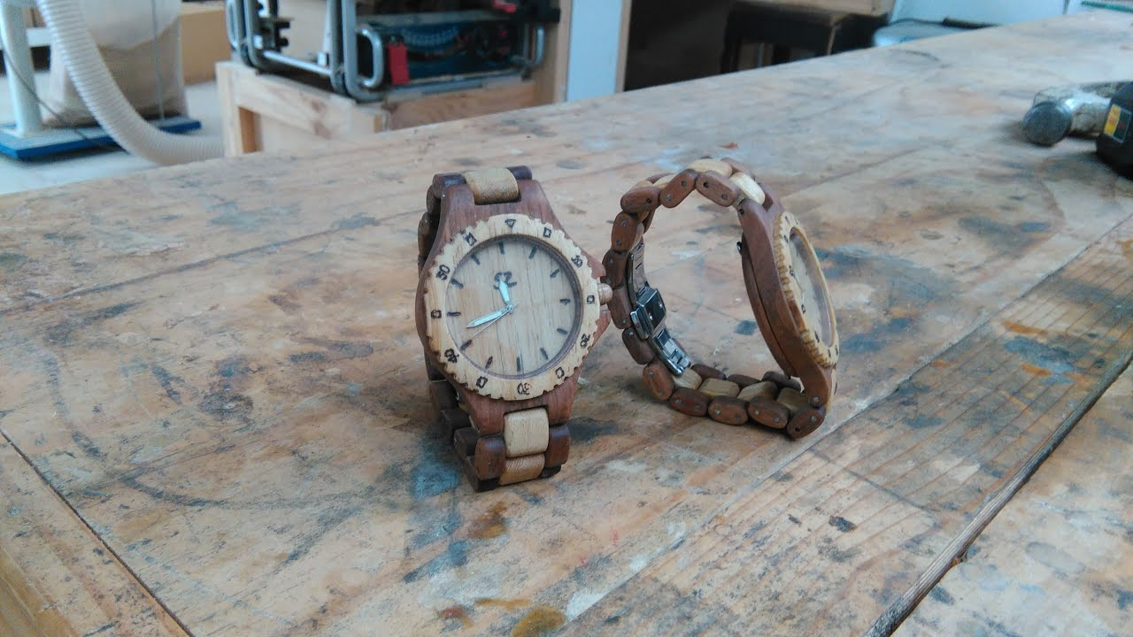 the band by watch watches luxwoods lux custom l with gaston engraving wood zebra woods personalized wooden
