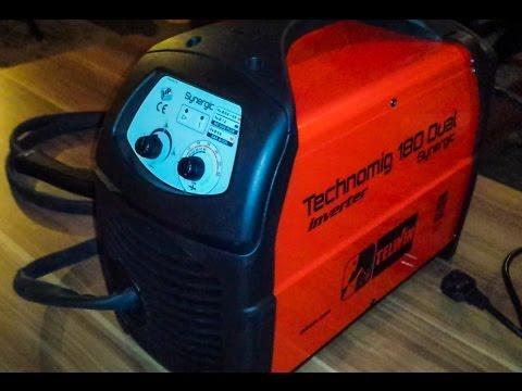 Unboxing Telwin Technomig 180 Dual Synergic