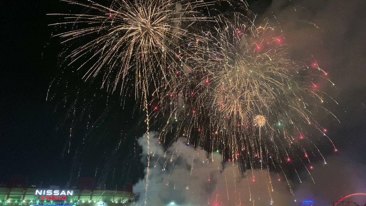 July 4th, 2021 -- Nashville Fireworks Finale (HD)