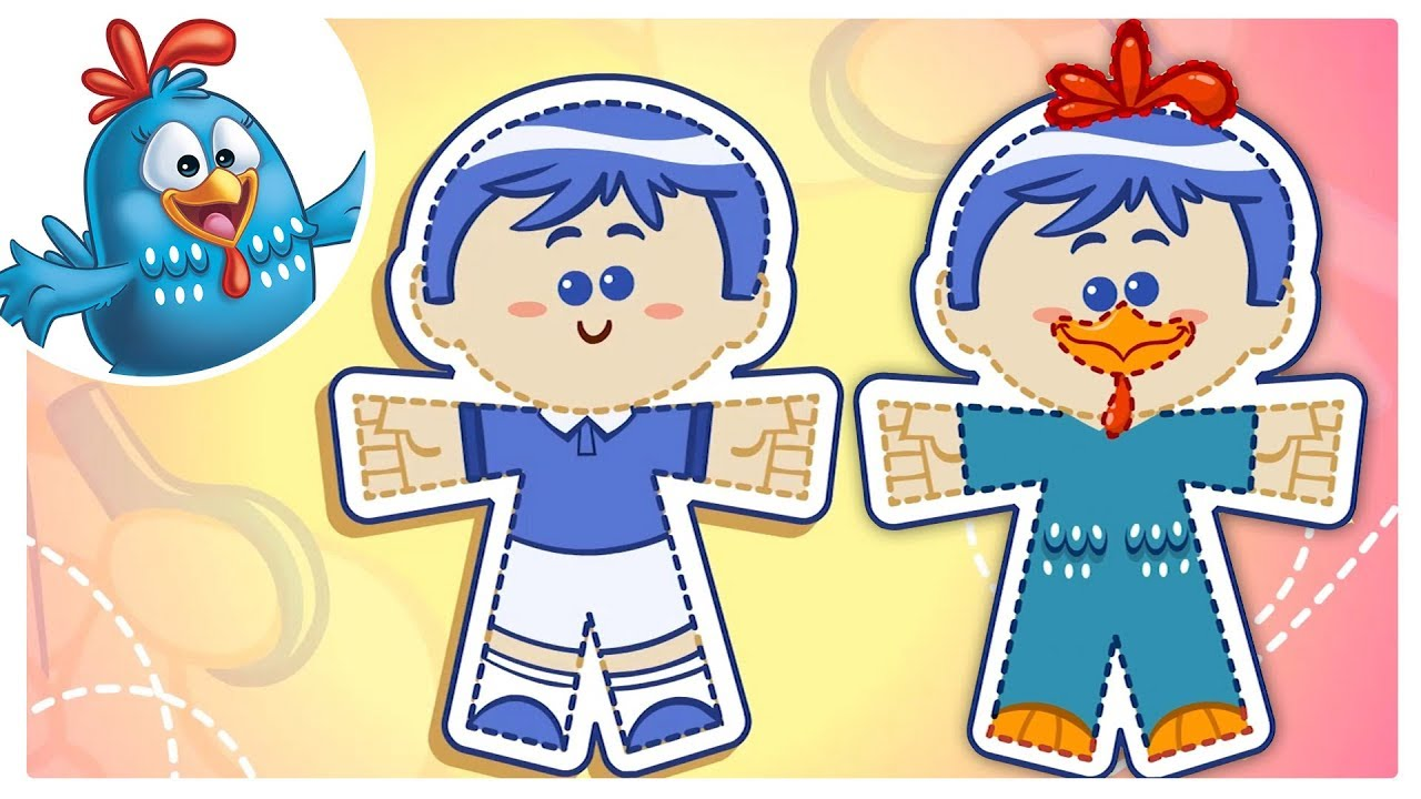 Lottie Dottie En Ping Pong Paper Dolls Song Nursery Rhymes For Kids