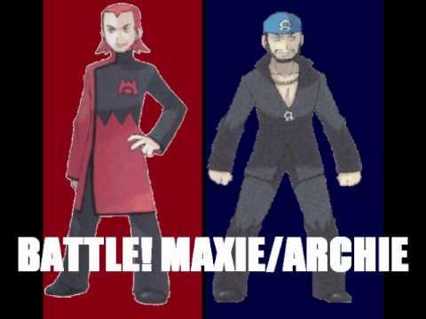 Pokemon RSE Maxie/Archie Battle Theme: BW Soundfonts