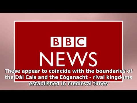 Irish dna map reveals history's imprint
