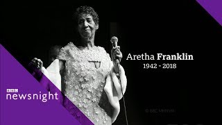 Aretha Franklin: Sister Sledge pay tribute - BBC Newsnight