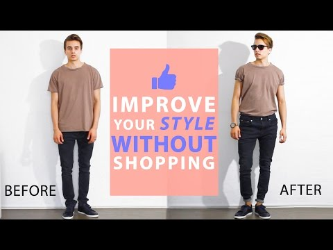 Thumbnail: How To Improve Your Style Without Buying New Clothes | Men's Fashion Tips