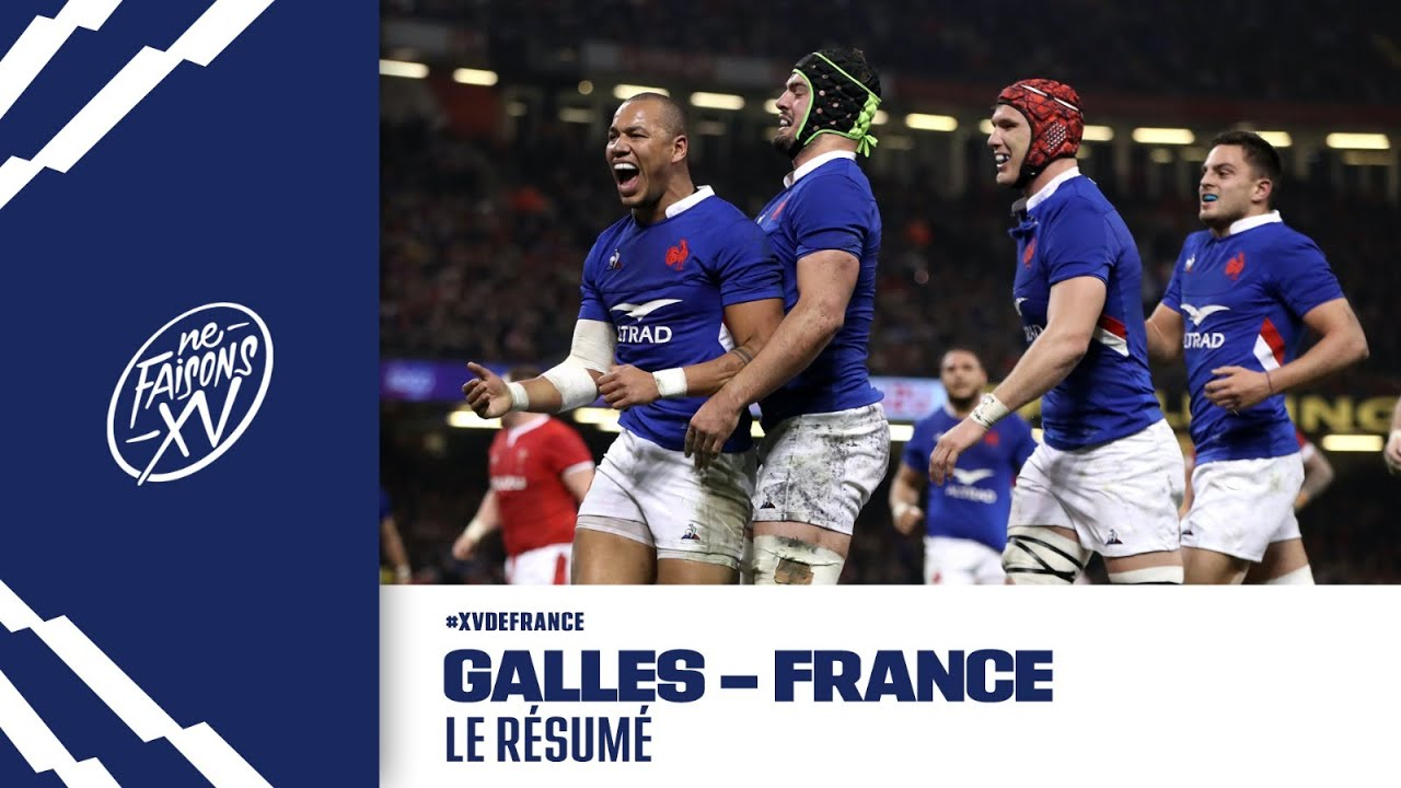 Resume video rugby france pays de galles how to write a book title in apa style