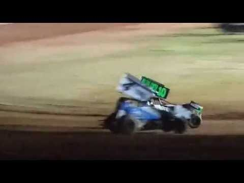 Lawton Speedway OCRS Sprints A feature part 2  6/4/2016