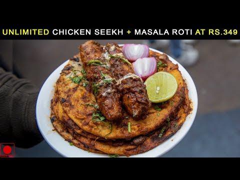 Unlimited Chicken Seekh Tawa Masala With Tandoori Masala Roti In Just 349Rs