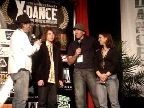Jordan Romero and Brian Wimmer at XDance