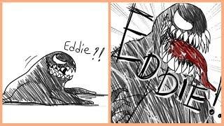 Funny Venom Comics: EDDIE!!!
