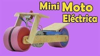 Cómo Hacer Una Moto Eléctrica (Muy fácil de hacer)