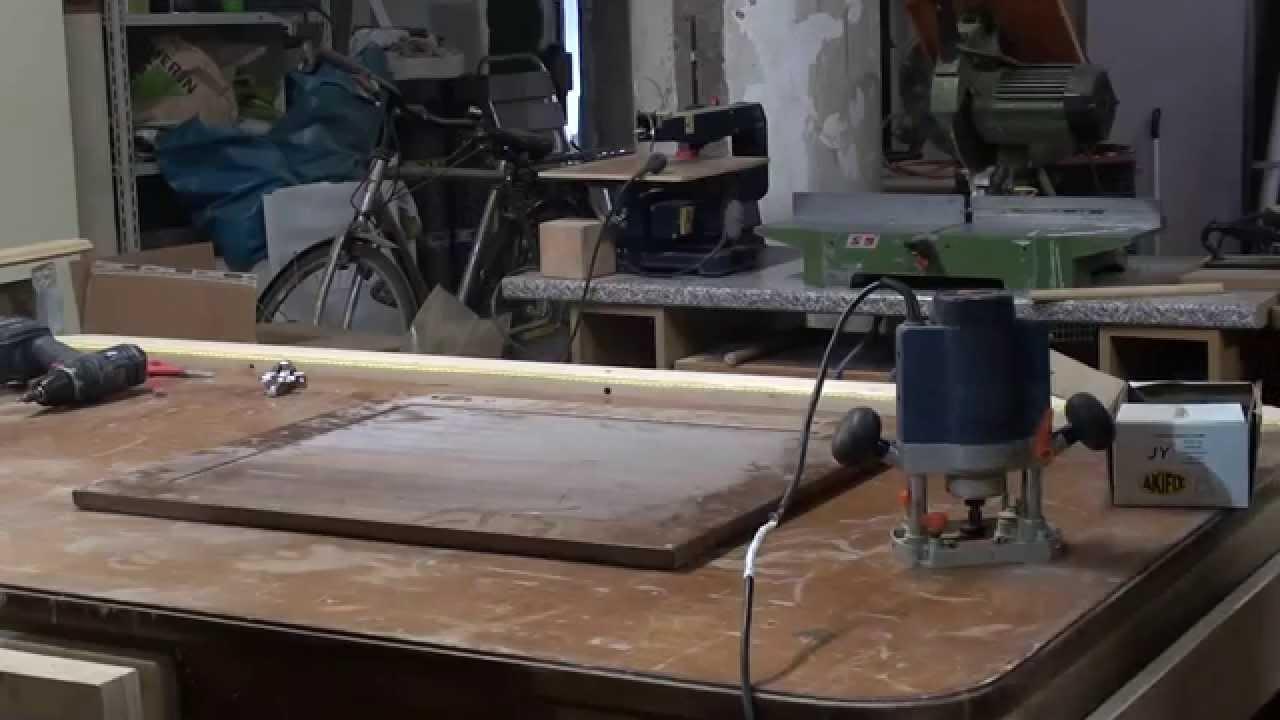 Come costruire attrezzo buchi sportelli youtube - Costruire una finestra in alluminio ...