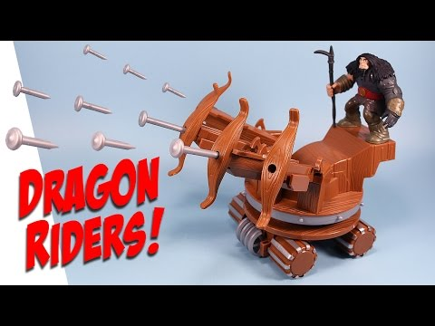 How to Train Your Dragon Riders New Drago & War Machine Review