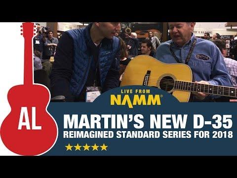 Martin's New D-35 (2018 NAMM Exclusive)