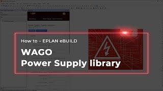 EPLAN eBUILD: WAGO Power Supply library