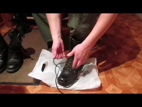 Как правильно заправить штаны в берцы