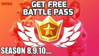 FORTNITE IS FAILING !! Free battle pass for Season 8,9,10... Claim Now !!