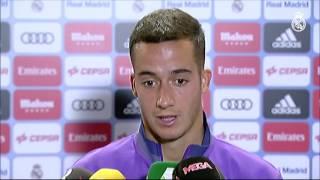 Declaraciones de Lucas Vázquez y Kovacic tras el partido contra el Villarreal