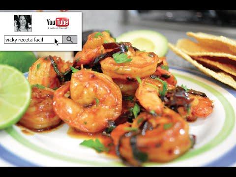 camarones al ajillo receta facil