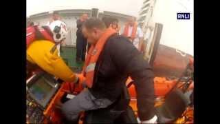 Bangor lifeboat helps take poorly cruise ship crew member to shore