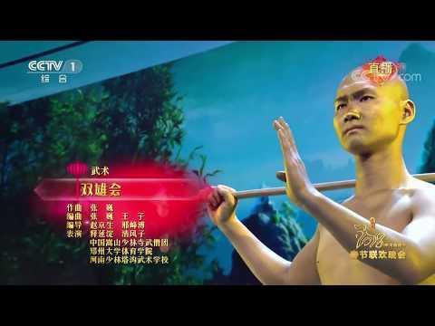 Shaolin Warrior Monk Performance on CCTV Spring Festival Gala 2018