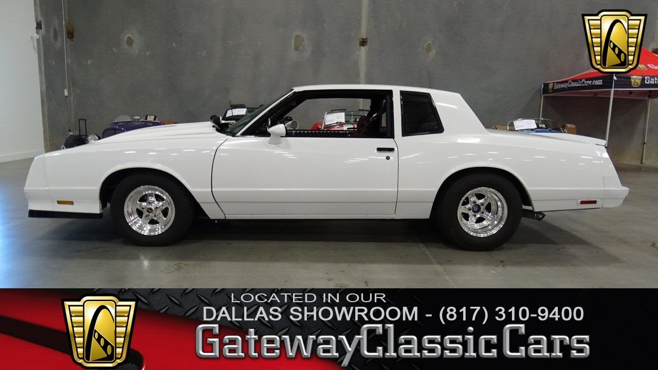 1982 Chevrolet Monte Carlo #382-DFW Gateway Classic Cars ...