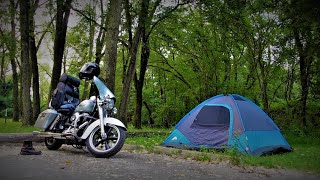 Motorcycle Camping In Iowa