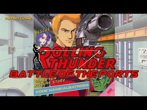 Battle of the Ports - Rolling Thunder - (ローリングサンダー (Show #45) 60fps