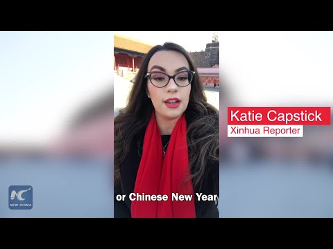 Xinhua Special: Celebrating Chinese New Year at Forbidden City