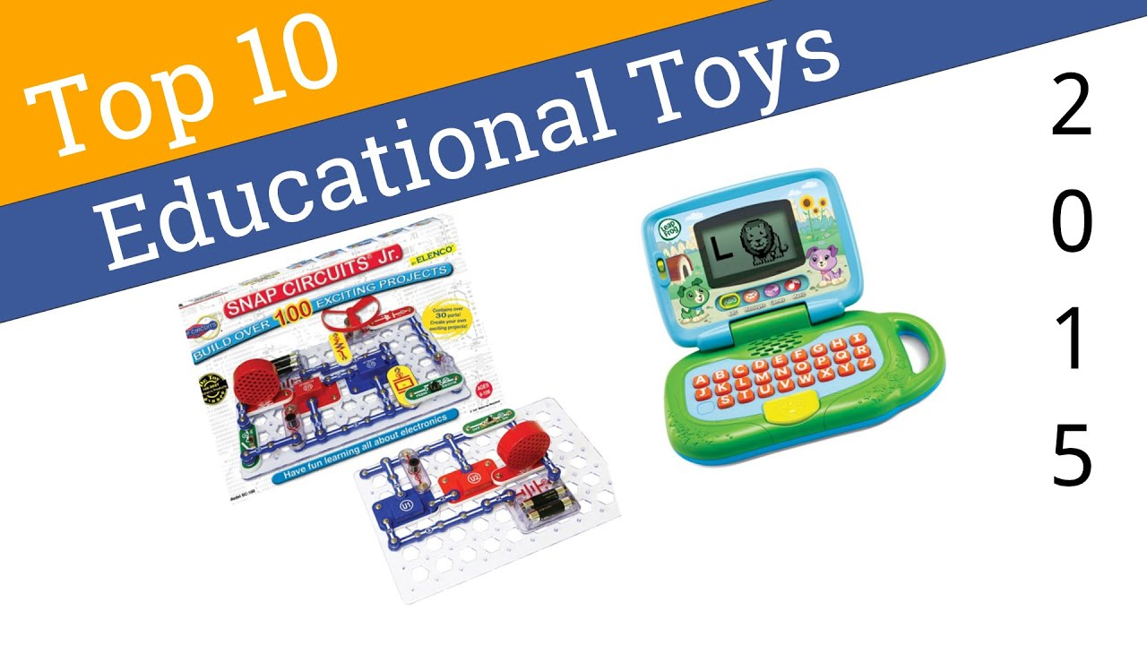 10 Best Educational Toys 2015