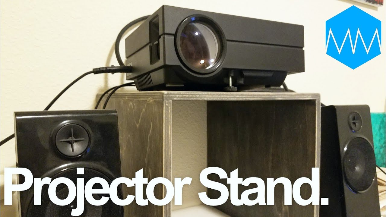 ▲ How I Made a Stand for My Projector