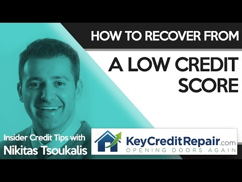 Key Credit Repair: How to Recover From a Low Credit Score