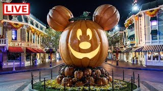 🔴 LIVE:  It's time for Mickey's Halloween Party at Disneyland 🎃👻🐭    Come join the fun!
