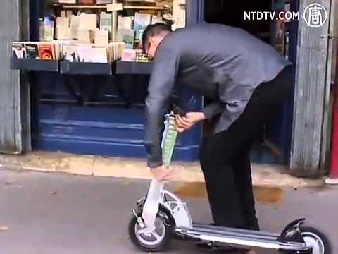 Israeli-developed Electric Scooter now in Singapore