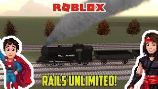 Roblox: RAILS UNLIMITED! Trains de jouets amusants pour les enfants