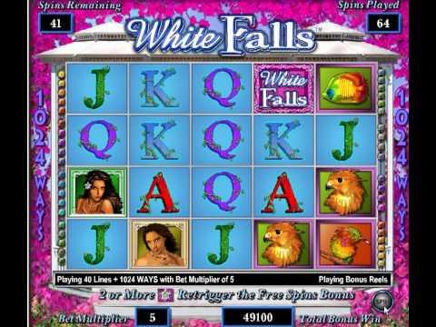 Slot Machine Bonus Win On Crystal Forest Doovi