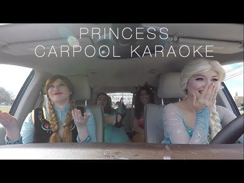 Carpool Karaoke - Disney Princess Edition!
