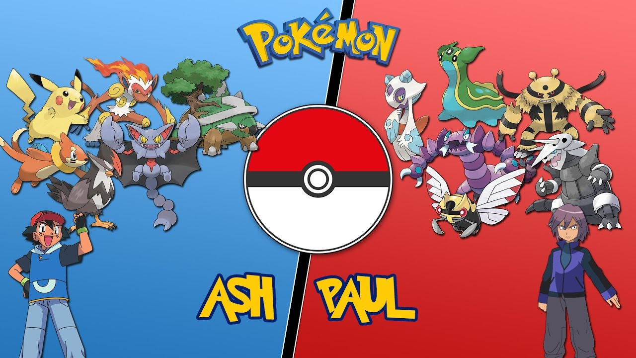 Ash Vs Paul Sinnoh League Pokemon Battle Revolution Let S Play