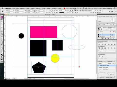 how to get a triangle in indesign