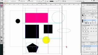 Indesign Shapes & Rule of Thirds