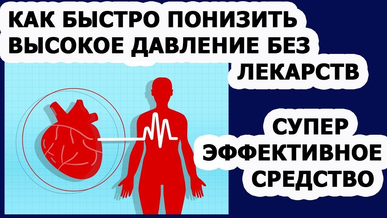 Гипертония Как быстро снять высокое давление без лекарств в домашних условиях